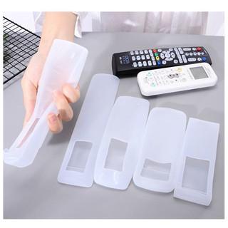 Bọc điều khiển (remote) tivi, điều hòa bằng nhựa silicon dẻo trong suốt