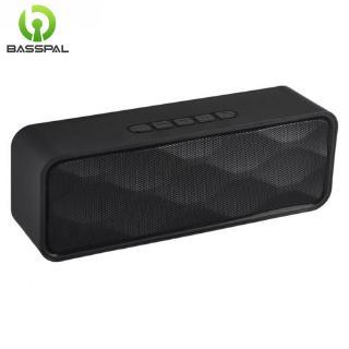Loa mini Basspal SC211 kết nối bluetooh hỗ trợ AUX FM thẻ TF phát âm thanh HIFI siêu trầm