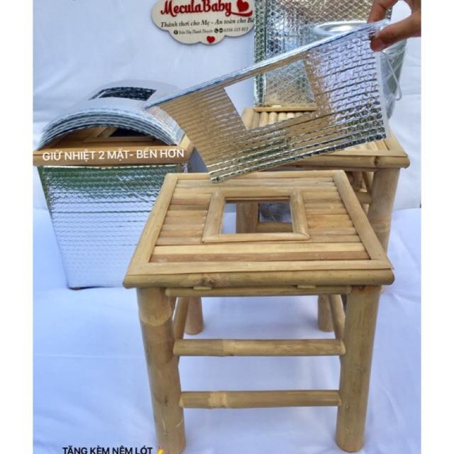 Ghế xông có viền tặng nệm ghế loại tốt nhất 👑