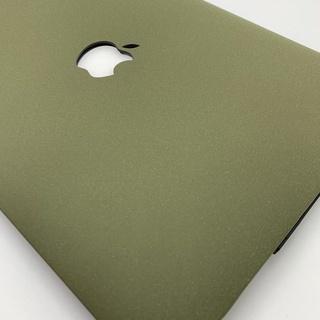 Ốp bảo vệ Macbook Air Pro Retina 11 12 13 15 Inch màu xanh quân đội