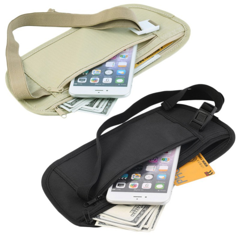Túi đeo hông đựng tiền nhỏ gọn phục vụ du lịch, chạy bộ, hoạt động thể thao