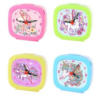 Đồng hồ để bàn ngựa thần màu sắc ĐHBI11 đồng hồ báo thức unicorn đồng hồ cute thumbnail