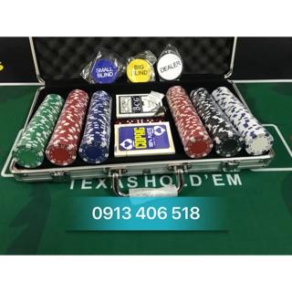 Phỉnh poker 300 chip loại không số hàng cao cấp