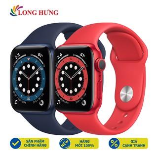 Đồng hồ thông minh Apple Watch Series 6 GPS Aluminum Case Sport Band - Hàng nhập khẩu