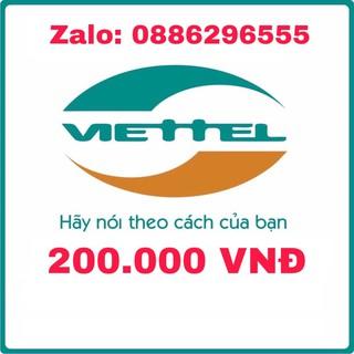 Thẻ cào Viettel 200.000đ Chiết Khấu Cao
