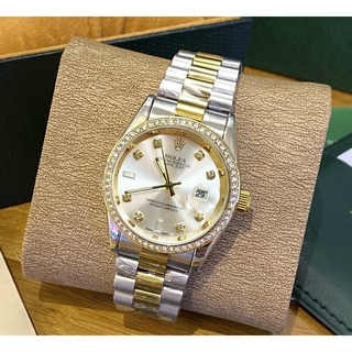 [Fullboxx 1 1] Đồng hồ nam Rolex - viền đá dây kim loại chống nước - Tokyo Shop thumbnail