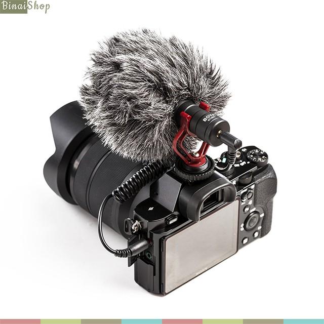 Microphone cho máy ảnh Boya BY-MM1