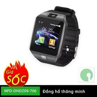 Đồng hồ thông minh giá rẻ cho giới trẻ sành điệu - gọi điện, nghe nhạc, chụp hình, quay phim - NPD-DHDZ09-706