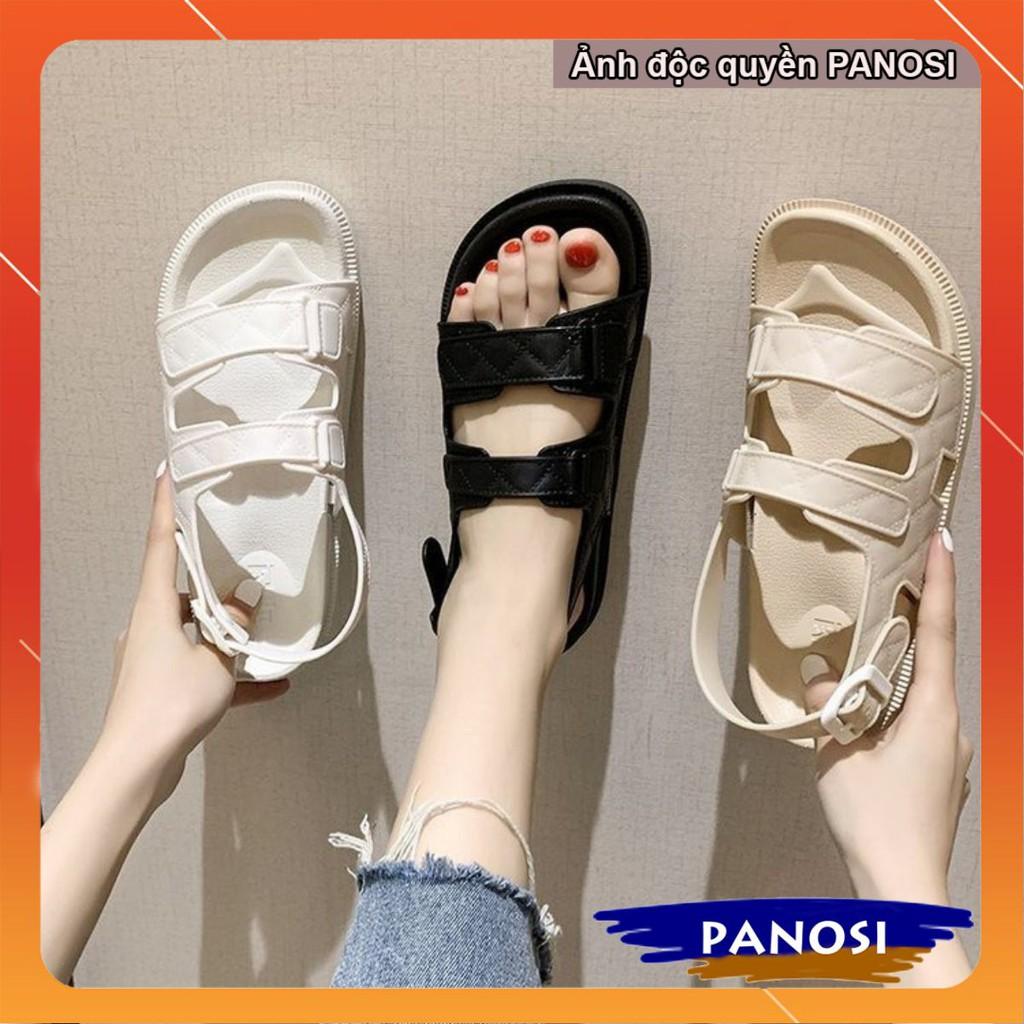 Dép nữ quai hậu, Sandal nữ nhựa cao cấp êm chân, chống trơn trượt, đi chơi, đi biển, đi mưa chống thấm - Mã D226