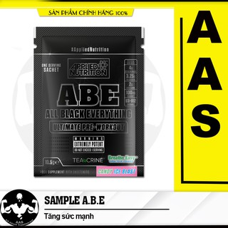 Gói Thử Sample Applied Nutrition ABE Pre workout 1 lần dùng(11 Gram) Authentic 100%