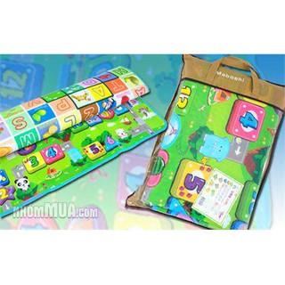 Thảm chơi 2 mặt maboshi cho bé + sản phẩm tùy chọn cho đơn hỗ trợ ship