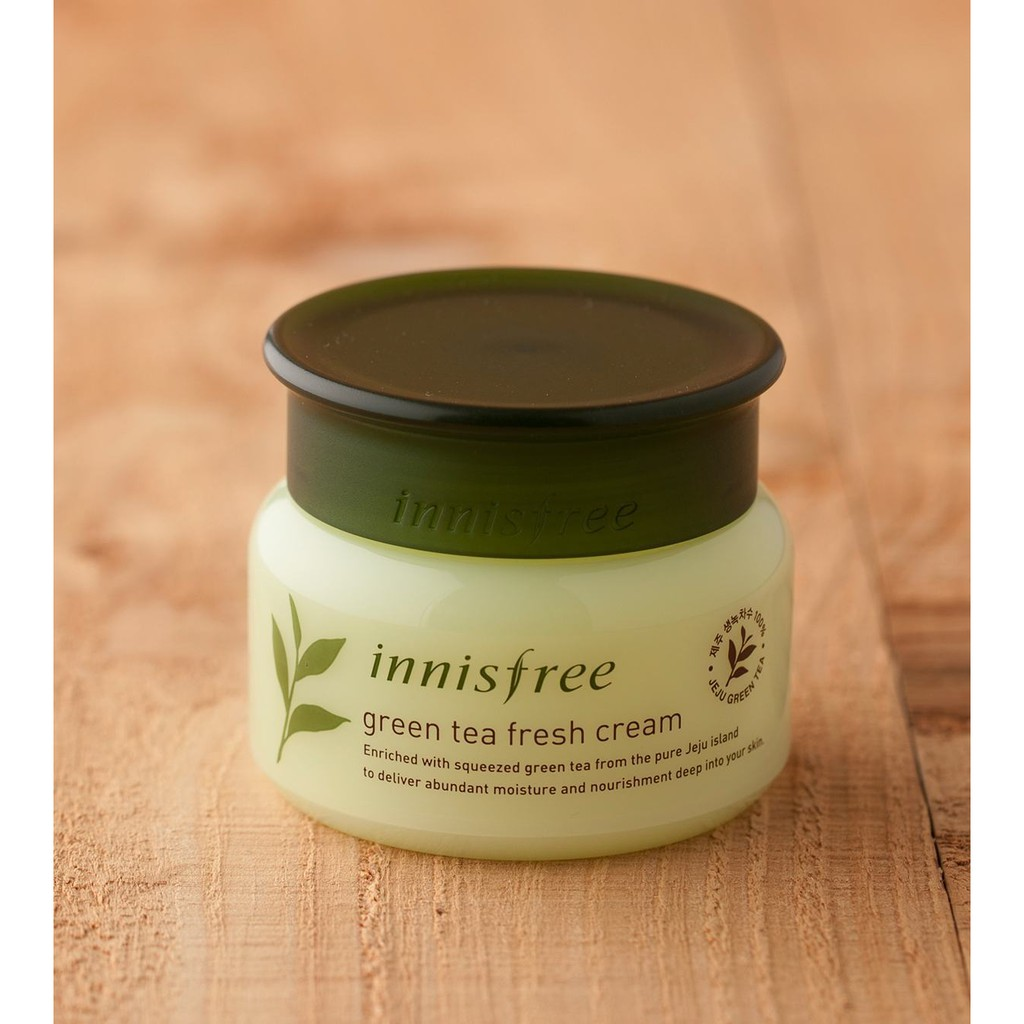 Kem dưỡng Innisfree Green Tea Fresh Cream 50ml