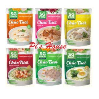 (HCM) CHÁO TƯƠI SG FOOD 270G (6 VỊ)