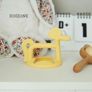 Gặm nướu Moyuum Silicon Hàn Quốc (Gặm Sao Gặm Pony Gặm Chim) chính hãng cho bé từ 3 tháng thumbnail