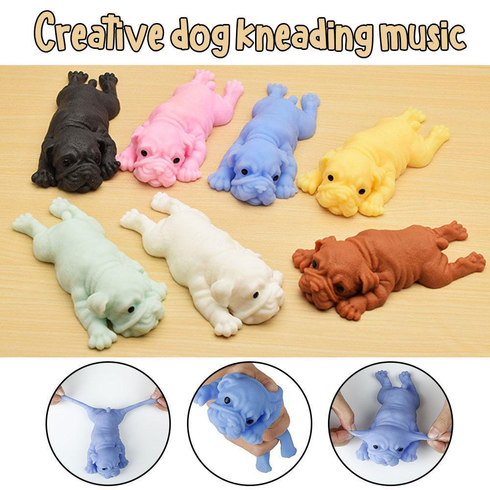 Creative Papa Dog Pinch Music Decompression Vent Toy Party Holiday Stress Gifts Creative Decompression Anti Simulation X0I2