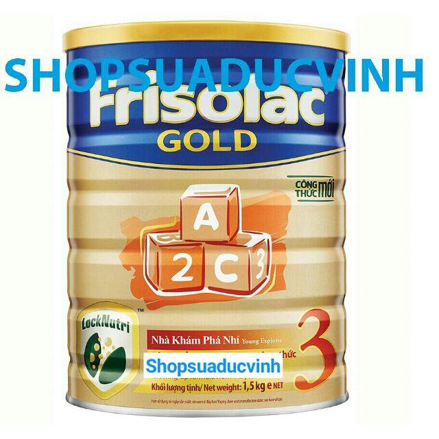 Sữa Friso Gold 3 1.5kg 04,05/2020 (Công thức LOCK-NUTRI)