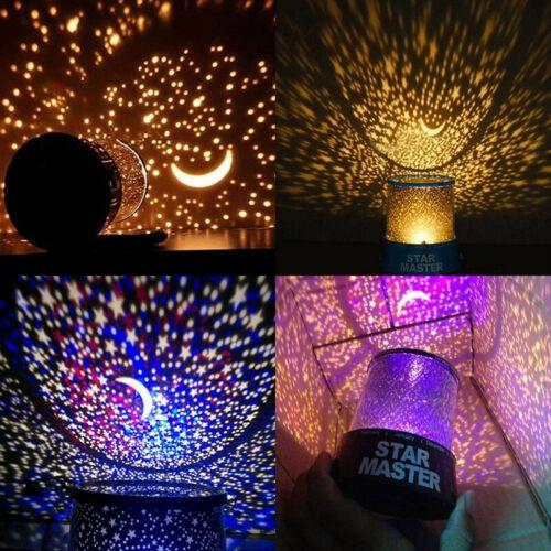 Đèn ngủ chiếu sao dải ngân hà lãng mạn