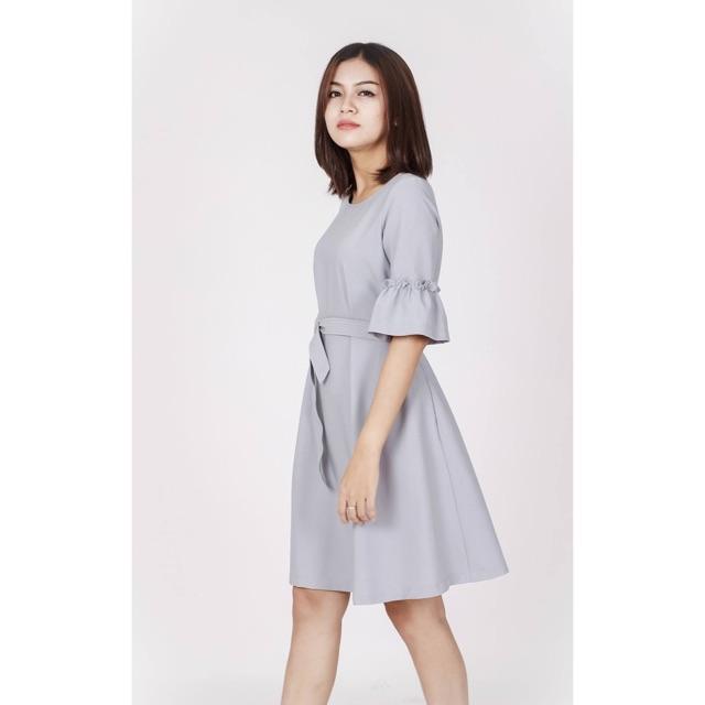 Đầm oversize nút wardrobes