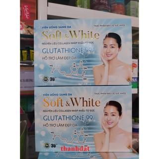 Viên Uống Sáng Da Soft & White glutathione 99 thumbnail