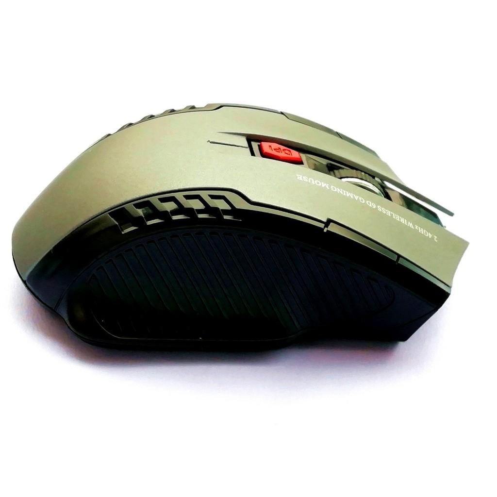 Chuột quang chơi game không dây 2.4G điều chỉnh được