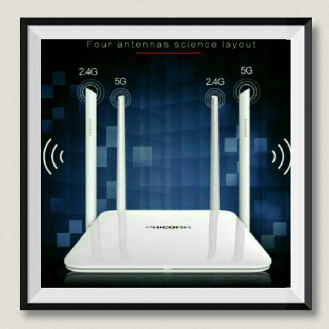 💗 MILANO SHOES💗BỘ KÍCH SÓNG Wifi Công Nghệ Mới  Gigabit 1200Mbps chuẩn 11AC Dual 2.4G & 5G PHICOMM