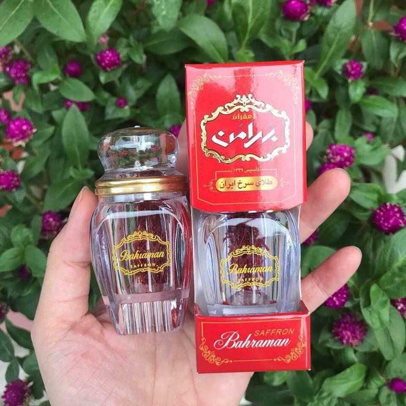 1 Gram Bahraman Saffron DUbai/ Saffron Nhụy Hoa Nghệ Tây loại 1, xách tay | Shopee Việt Nam