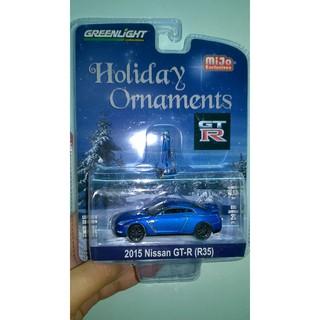 Xe mô hình Nissan R35 blue xanh dương – Greenlight