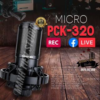 [KÈM VIDEO HÌNH THẬT SẢN PHẨM] Mic thu âm Takstar PC-K320 hát karaoke, thu âm, livestream, bảo hành 12 tháng bắt âm tốt