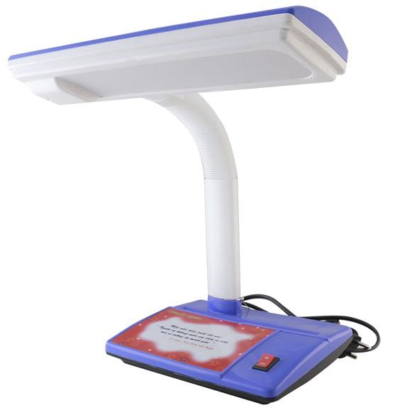 [Giao màu ngẫu nhiên] Đèn bàn bảo vệ thị lực LED Rạng Đông RL01 5W chống cận ánh sáng vàng (đèn học sinh đã kèm đủ bóng)