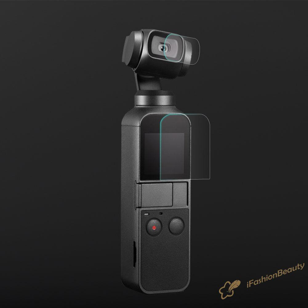 3 Miếng Dán Bảo Vệ Camera + 3 Miếng Phim Cho Camera Dji Osmo Pocket