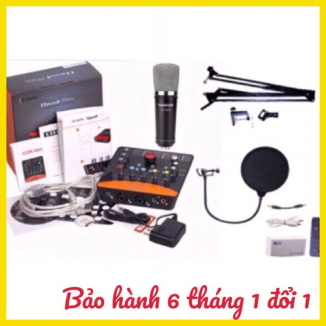 Combo mic thu âm livestream karaoke k600 icon upod dây ma1 chân kẹp màng lọc - 2727344 , 964746969 , 322_964746969 , 3650000 , Combo-mic-thu-am-livestream-karaoke-k600-icon-upod-day-ma1-chan-kep-mang-loc-322_964746969 , shopee.vn , Combo mic thu âm livestream karaoke k600 icon upod dây ma1 chân kẹp màng lọc
