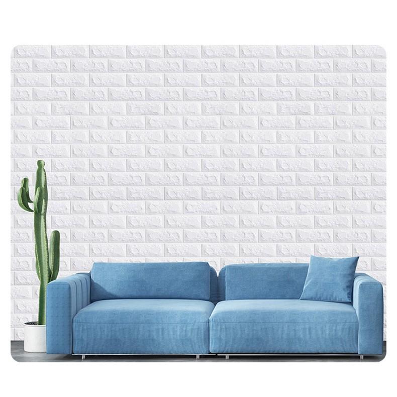 Xốp dán tường giả gạch đủ màu 70 x 77 x 0.3cm