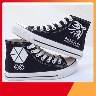 giày cao cổ thể thao EXO cho cả nam và nữ thiết kế và in theo yêu cầu thumbnail