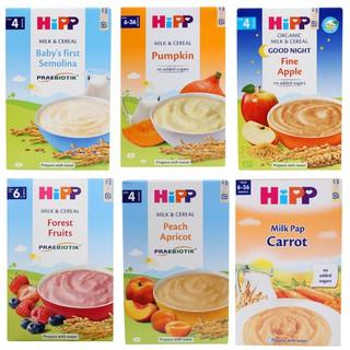 Bột ăn dặm Hipp cho trẻ từ 4 tháng tuổi