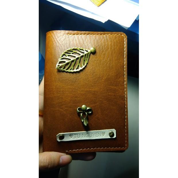 Vỏ hộ chiếu Passport handmade