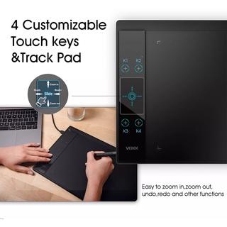 [CHÍNH HÃNG, HÀNG CÓ SẴN ] Bảng vẽ điện tử VEIKK-A30 - 10x6 inch,8192 cấp độ lực, độ nhạy cao, độ trễ thấp thumbnail
