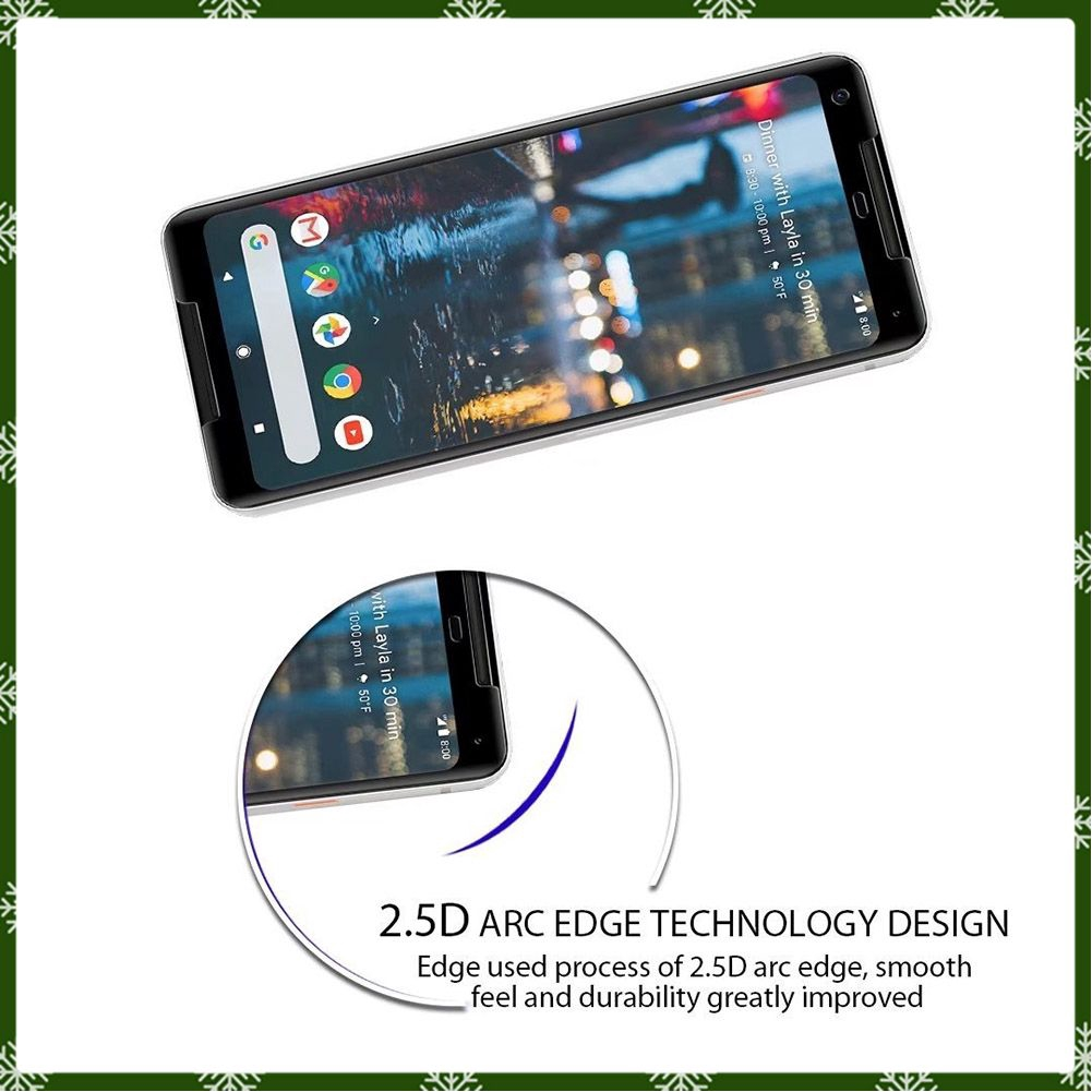 Kính cường lực bảo vệ màn hình cho điện thoại Google Pixel 2 XL