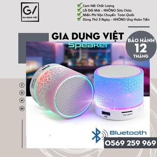 [Mã ELFLASH5 giảm 20K đơn 50K] Loa Bluetooth Mini A9 Có Đèn Led Nháy Theo Nhạc Cực Chất