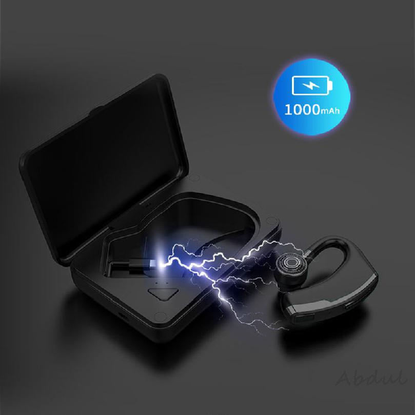 Bluetooth headset flash fast long hanging standby ear in-ear with stand 580