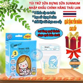 Túi Trữ Sữa Cho Bé Sunmum 100ML/ 240ML