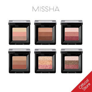 Phấn Mắt 3 Màu Missha Triple Shadow version 2 1.5g