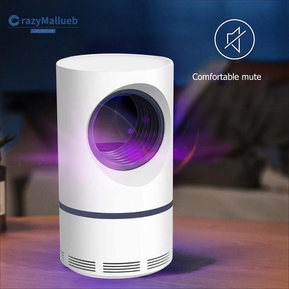 Crazymallueb❤UV USB Mosquito Repellent Lamp Photocatalytic Electric Insect Trap Light❤Lighting