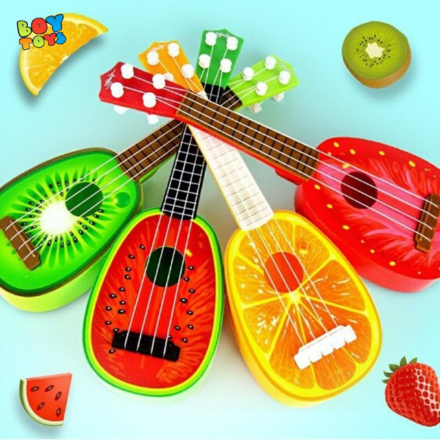 Đồ chơi đàn guitar hoa quả mini cho bé thỏa sức vui chơi