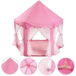 Lều màn hồng công chúa dành cho bé gái