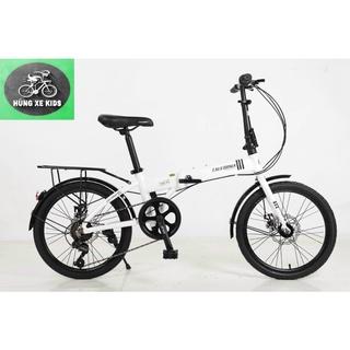 Xe đạp gấp California khung nhôm nhập khẩu chính hãng. thumbnail