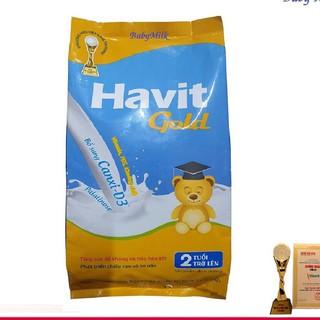 [TRỢ GIÁ] Combo 3 túi Sữa Havit Gold bổ sung Canxi-D3 (1kg) (bé 2 tuổi)