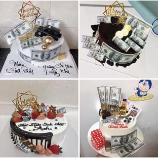 [SIÊU RẺ❤️] – 20 Tờ Tiền Dolar - Trang trí bánh sinh nhât bánh kem