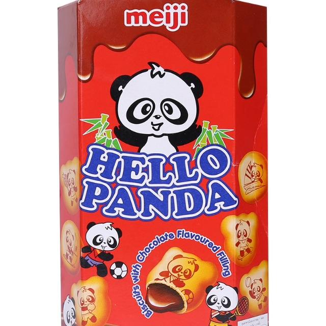 Bánh Meiji Hello Panda vị sôcôla 50g