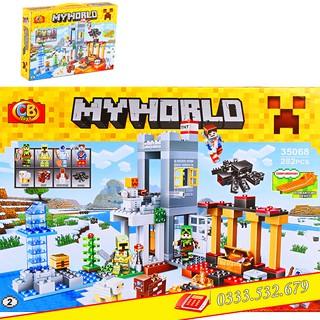 Lego Lắp Ghép My World Mineecraft 35068-2 / 282 PCS (Chi Tiết)