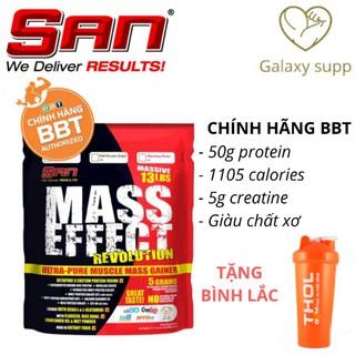 SAN Mass Tăng cân Effect Revolution bịch 5.9kg